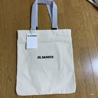 Jil Sander - JIL SANDER  ミディアムサイズキャンバス トートバッグです