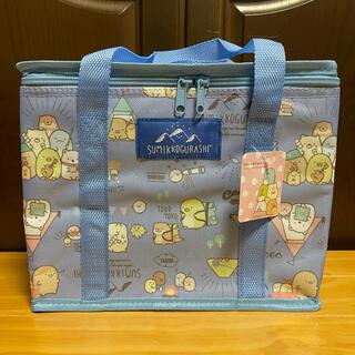 サンエックス(サンエックス)の【すみっコぐらし】保冷ワイドバッグ(ブルー)(トートバッグ)