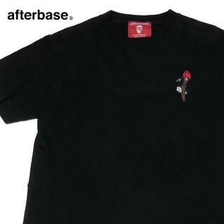 アフターベース(AFTERBASE)の*1106 afterbase アフターベース ワンポイント Tシャツ(Tシャツ/カットソー(半袖/袖なし))