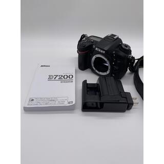 Nikon - ☆美品【NIKON】D7200 ボディ ニコン