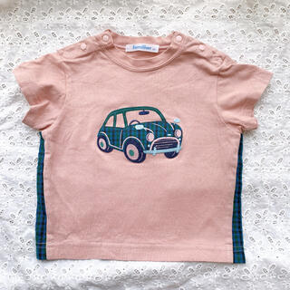 familiar - 【ファミリア 】Tシャツ チェック 80 男の子
