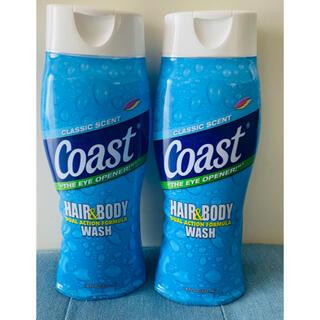 バスアンドボディーワークス(Bath & Body Works)のCoast hair&body wash!コースト ヘアー&ボディウォッシュ2本(ボディソープ/石鹸)