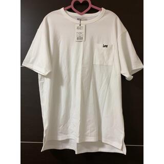リー(Lee)のLEE 男女兼用 LLサイズ Tシャツ 新品 白(Tシャツ(半袖/袖なし))