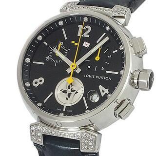 ルイヴィトン(LOUIS VUITTON)のルイヴィトン タンブール ラブリーカップ クロノグラフ ラグダイヤ Q11BK(腕時計(アナログ))