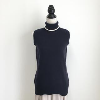 セリーヌ(celine)の美品 セリーヌ CELINE カシミヤ100% ニット タートル セーター(ニット/セーター)