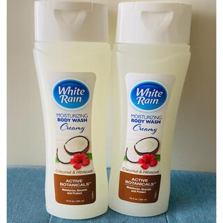 バスアンドボディーワークス(Bath & Body Works)のWhite Rain body wash!ホワイトレイン ココナッツハイビスカス(ボディソープ/石鹸)