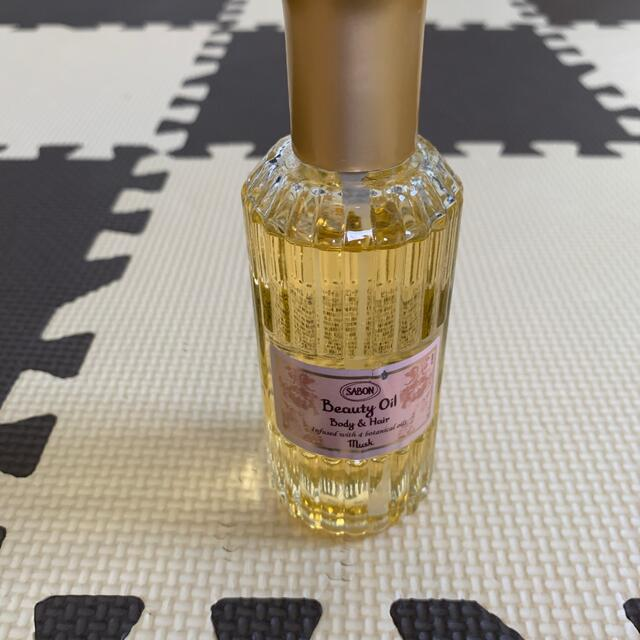 SABON(サボン)のSABON musk ビューティーオイル 9割 おまけ付き コスメ/美容のボディケア(ボディオイル)の商品写真