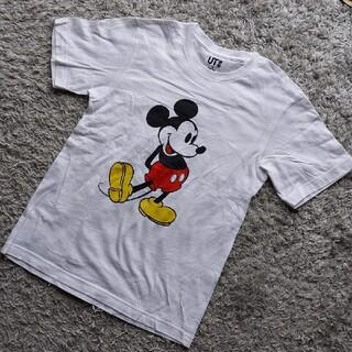 UNIQLO - UNIQLO プリントTシャツ ミッキーマウス