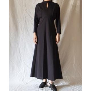 マメ(mame)の新品未使用 21PF mame cotton jersey dress(ロングワンピース/マキシワンピース)