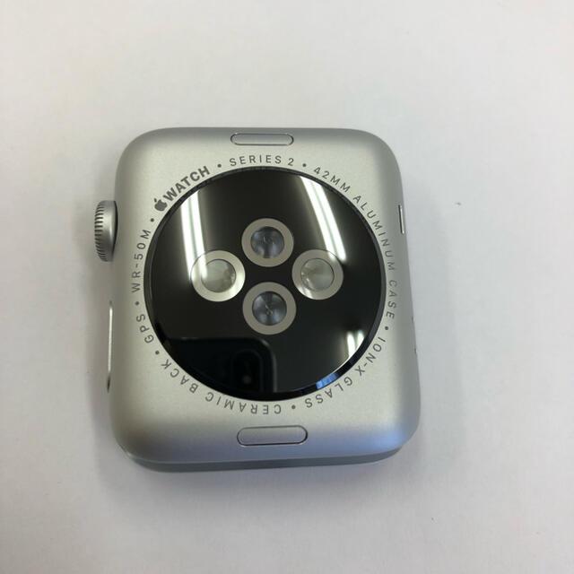 Apple Watch(アップルウォッチ)のApple Watch series2 シルバー 42mm アップルウォッチ メンズの時計(腕時計(デジタル))の商品写真