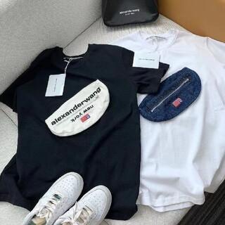 アレキサンダーワン(Alexander Wang)のAlexanderWang 半袖tシャツ  取り外し可能なバッグ B-1069(Tシャツ(半袖/袖なし))