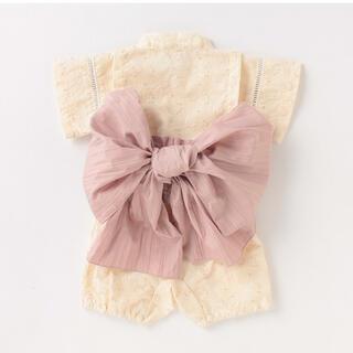 プティマイン(petit main)のpetit main ベビー 浴衣 80cm(甚平/浴衣)
