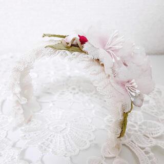 ボークス(VOLKS)のディーラー様(&FLOWER様) 布花 桜のカチューシャ(人形)