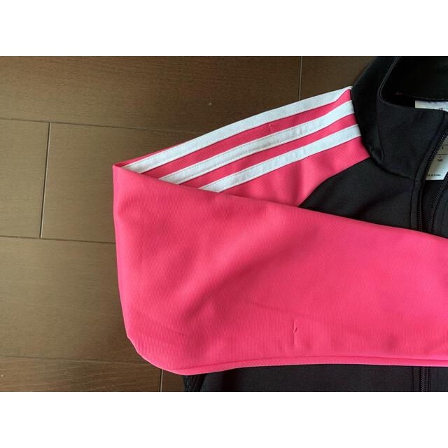 adidas(アディダス)のadidas アディダス ジャージ CLIMALITE キッズ/ベビー/マタニティのキッズ服女の子用(90cm~)(その他)の商品写真