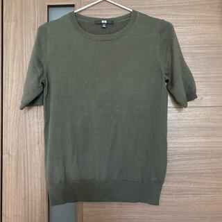 UNIQLO - ユニクロ Tシャツ PURE NEW WOOL