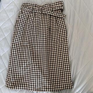 テチチ(Techichi)のte'chichi terrasse チェックタイトスカート(ひざ丈スカート)