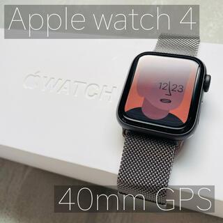 Apple Watch - Apple watch series4 40mm GPS ★おまけ付き★