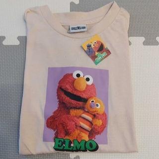 セサミストリート(SESAME STREET)のサンキューマート セサミストリート エルモ Tシャツ 【ピンクベージュ】(Tシャツ(半袖/袖なし))