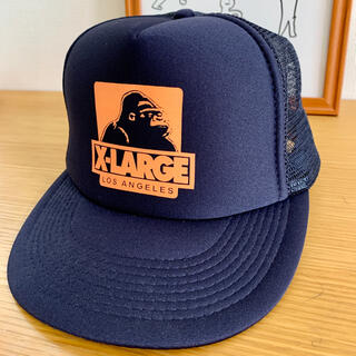 XLARGE - Xlarge メッシュ キャップ ネイビー