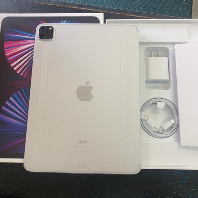iPad(アイパッド)の未使用 iPad Pro 11インチ 第3世代 128GB M1チップ シルバー スマホ/家電/カメラのPC/タブレット(タブレット)の商品写真