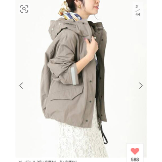 IENA - VERMEIL par iena UPPERHIGHTS ミリタリーパーカ XS