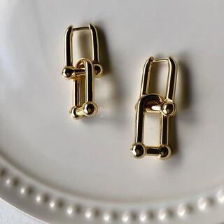 P29ゴールド ハードウェアピアス(ピアス)