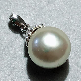 pt900 真珠ペンダント パールペンダント プラチナ900 真珠 パール