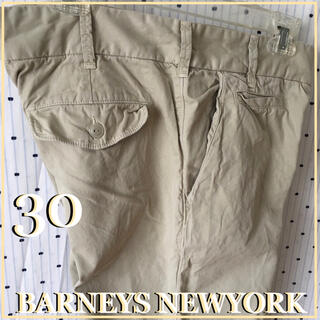 バーニーズニューヨーク(BARNEYS NEW YORK)のBARNEYSNEWYORKバーニーズUS限定 アースチノパンツ30インチ(チノパン)
