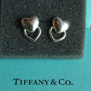 Tiffany & Co. - ティファニー ダブルハートピアス