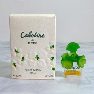 グレ(GRES)の人気 GRES グレ カボティーヌ オードトワレ  3.2mL(香水(女性用))