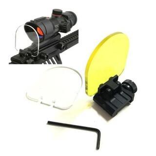 レンズプロテクター ダットサイト スコープ保護 ホロサイト ガードシールド(カスタムパーツ)