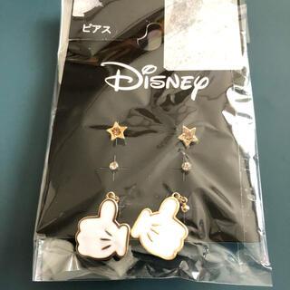 ディズニー(Disney)の値下げ 新品未使用 ディズニーピアス ミッキーピアス(ピアス)