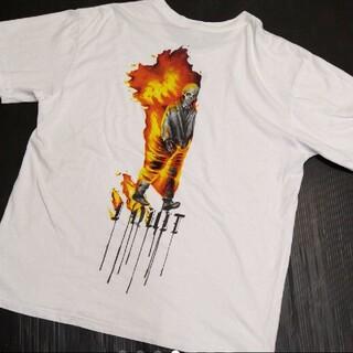 OFF-WHITE - オフホワイト BABYLON  Tシャツ L