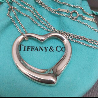 Tiffany & Co. - ティファニー オープンハート XLサイズ ネックレス エルサ 特大 SV925