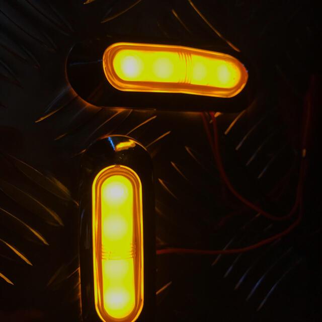 LEDカウルウインカー 2個 自動車/バイクのバイク(パーツ)の商品写真