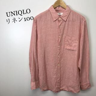 UNIQLO - UNIQLO ユニクロ リネン シャツ