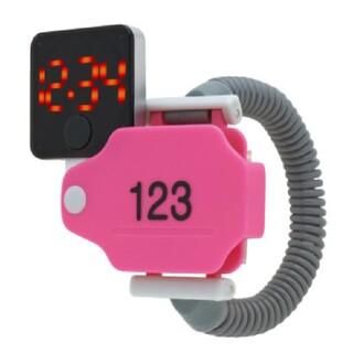 ♨︎ WATCH 温泉ウォッチ ピンクカバー123 リストウォッチ 腕時計