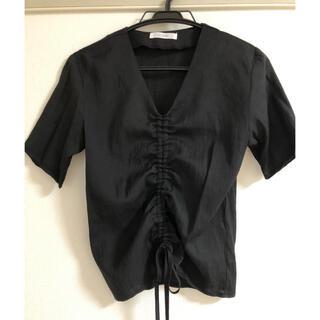 ディーホリック(dholic)のリネン ブラウス(シャツ/ブラウス(半袖/袖なし))