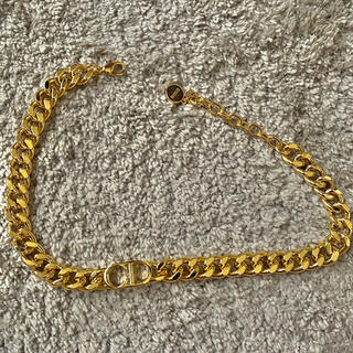 Dior - Dior Gold chocker necklace チョーカー・ネックレス