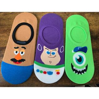 ディズニー(Disney)のDisney ピクサー レディース靴下 3点セット(ソックス)