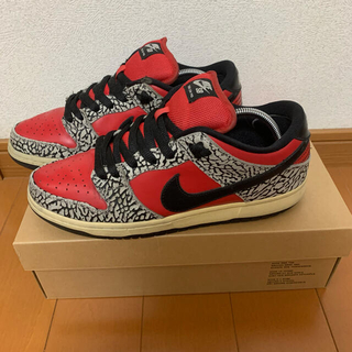 Supreme - NIKE Supreme dunk low SB 3rd red cement
