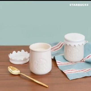 Starbucks Coffee - 韓国限定★スターバックス ギリシャヨーグルト 陶器