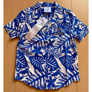Disney - ハワイ アウラニ ディズニー ミッキーマウス アロハシャツ キッズ XS