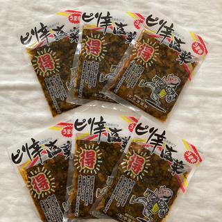 【国産】ピリ辛高菜 大分県産 130g×6袋(漬物)