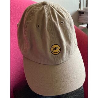 リー(Lee)のLEE リー/スマイル(ニコちゃんマーク)と合体した珍しいキャップCAP帽子(キャップ)