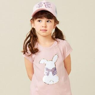 エニィファム(anyFAM)の✳美品✳エニィファムキッズ anyFAM ミラクルスパンコール Tシャツ 120(Tシャツ/カットソー)