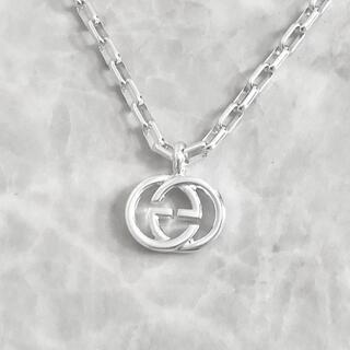 Gucci - 正規品 グッチ ネックレス シルバー SV925 GG インターロッキング 銀3
