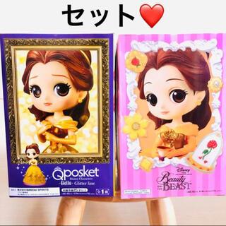 Disney - 【8/1削除予定】  ディズニー 美女と野獣 ベル フィギュア セット