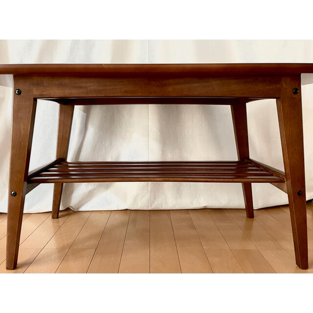 カリモク家具(カリモクカグ)のカリモク60 テーブル ウォールナット インテリア/住まい/日用品の机/テーブル(ローテーブル)の商品写真