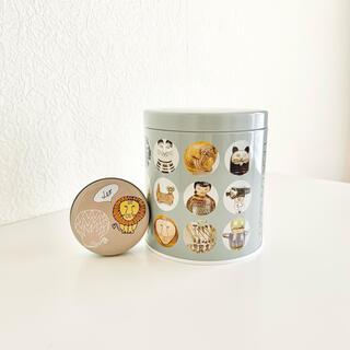 Lisa Larson - 【2点セット】リサ・ラーソン2020展覧会公式陶器シリーズ缶&スタジオクリップ缶